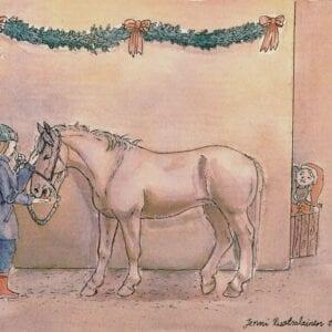 Art Kaviokas -postikortti, Joulutervehdys