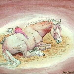 Art Kaviokas -postikortti, Tontun lukuhetki