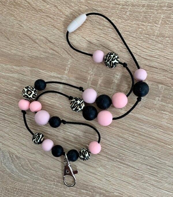 Lilia-helmet Pink panther- avainkaulanauha