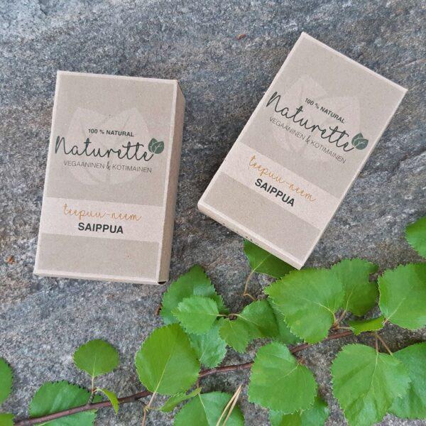 Naturette Teepuu-neem-saippua